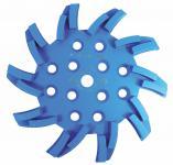 Stern-Diamantschleifscheibe D 250 mm blau
