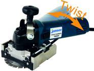 Door Trimmer TWIST 230V mit HM-Frässcheibe im Koffer