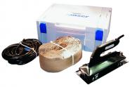 Konfektionsgerät komplett im Koffer